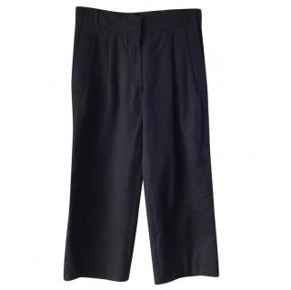Marni gabardine cropped trousers