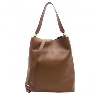 Byredo Brown Leather Shoulder Bag
