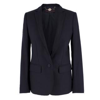 Stella McCartney Navy Wool Blazer