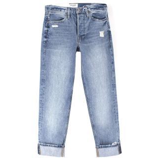 Frame High Rise Le Pegged Jeans