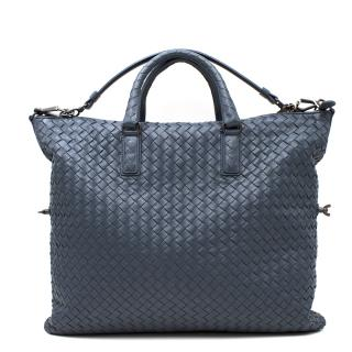 Bottega Veneta Light Tourmaline Intrecciato Nappa Leather Bag