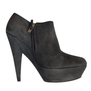 Yves Saint Laurent suede booties