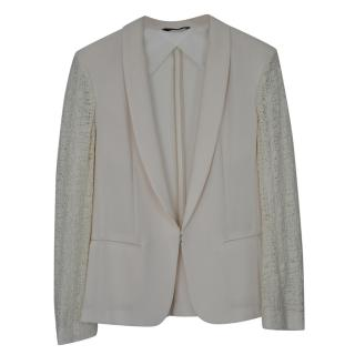 Rag and Bone Lace Sleeve Jacket