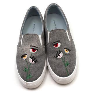 Chiarra Ferragini 'Find Me In Wonderland' Sneakers