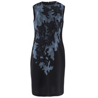 Ermanno Scervino Lace Applique Shift Dress