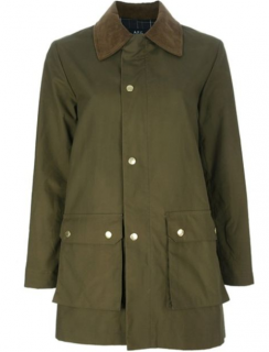 A.P.C Khaki Waxed Jacket