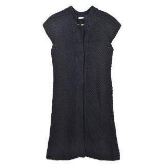 Strenesse Open Knit Wool Cardigan