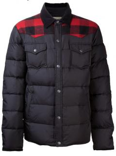 Penfield Rockford plaid down jacket