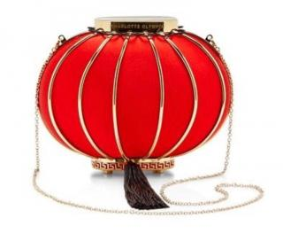 Charlotte Olympia Iconic Lantern Clutch