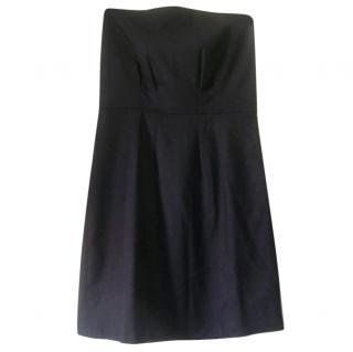 Claudie Pierlot Strapless Wool Dress