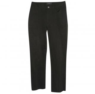 Joseph olive stretch trousers