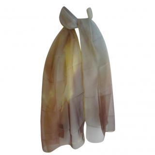 Vivienne Westwood Silk Chiffon Scarf
