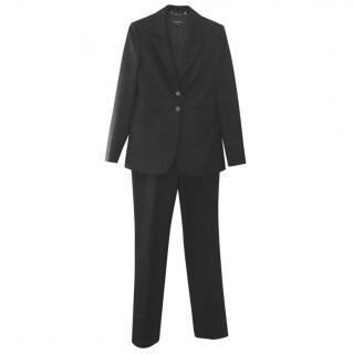 Gucci black trouser suit, size 42