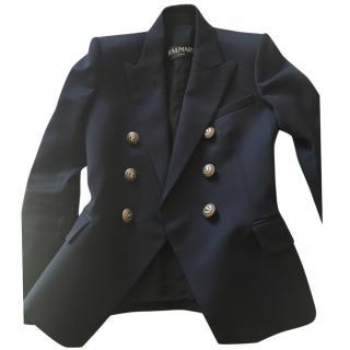 Balmain navy blue blazer 36