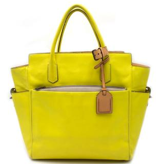Reed Krakoff Fluorescent Yellow Handbag