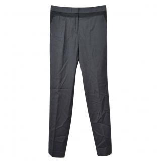 BY MALENE BIRGER grey wool trousers, size 36