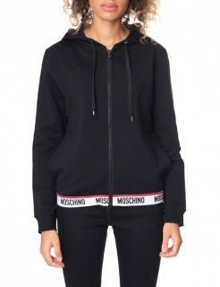 Moschino Underwear Black Hoodie