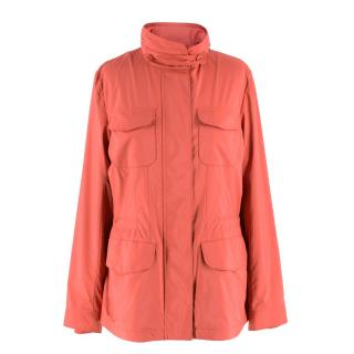 Loro Piana Pink Windmate Traveller Jacket