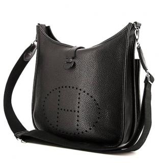 Hermes Evelyne III 29 Taurillon Clemence Leather Bag