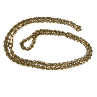 Christian Dior Vintage Rope Necklace
