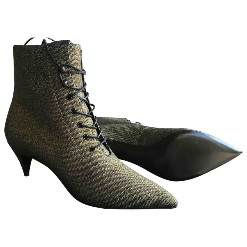 Saint Laurent Laceup Boots | HEWI