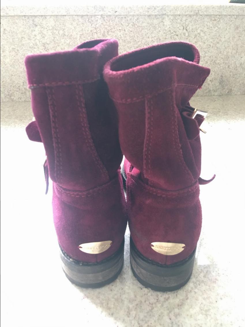 86e5fe46528 Jimmy Choo biker boots. 28. 1234567