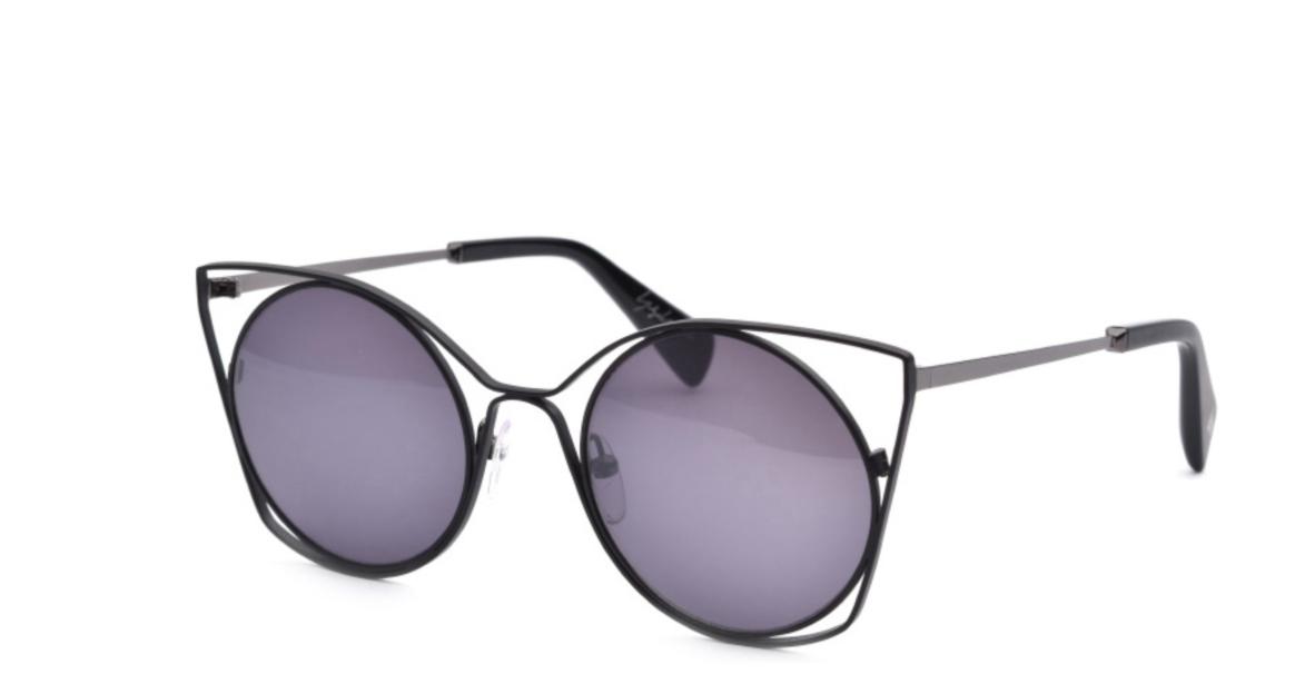 Yohji Yamamoto Black/Grey 7007 002 - Cat Eye sunglasses