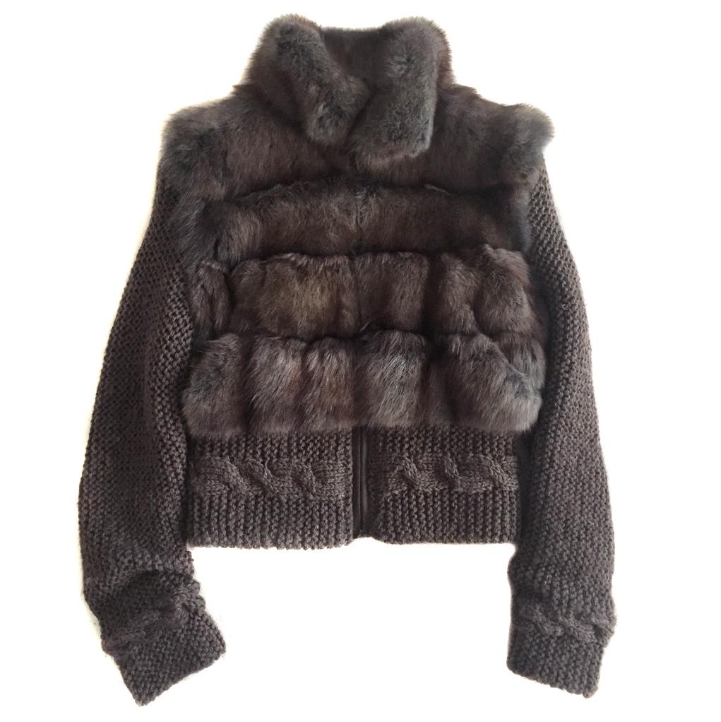 Pajaro Sable Knit Jacket