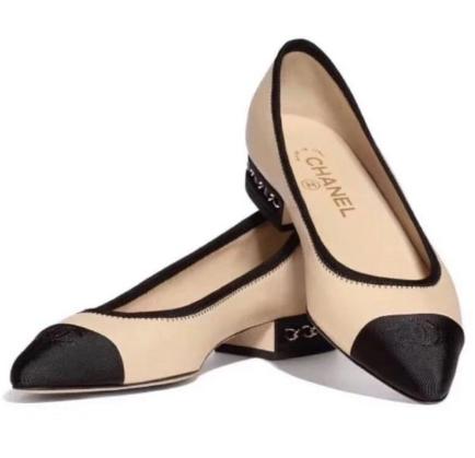 3f2b4435c Chanel Chainlink Captoe Ballet Flats | HEWI London