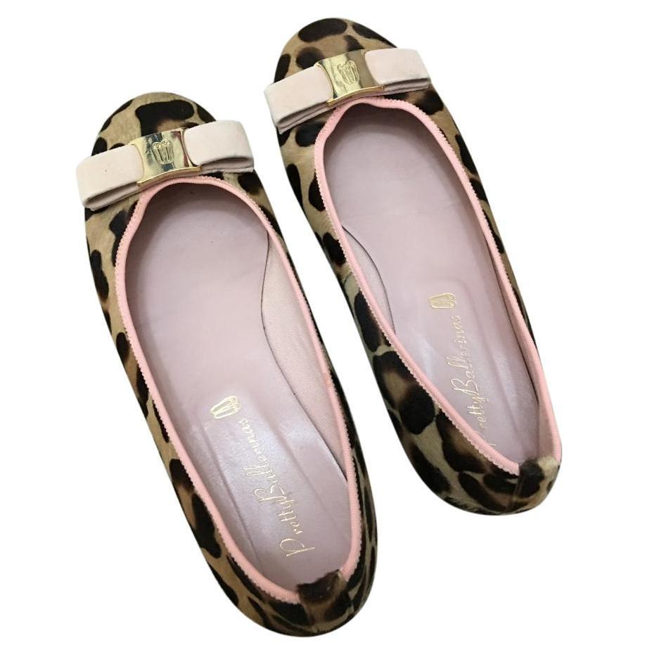 Pretty Ballerina Leopard Flats