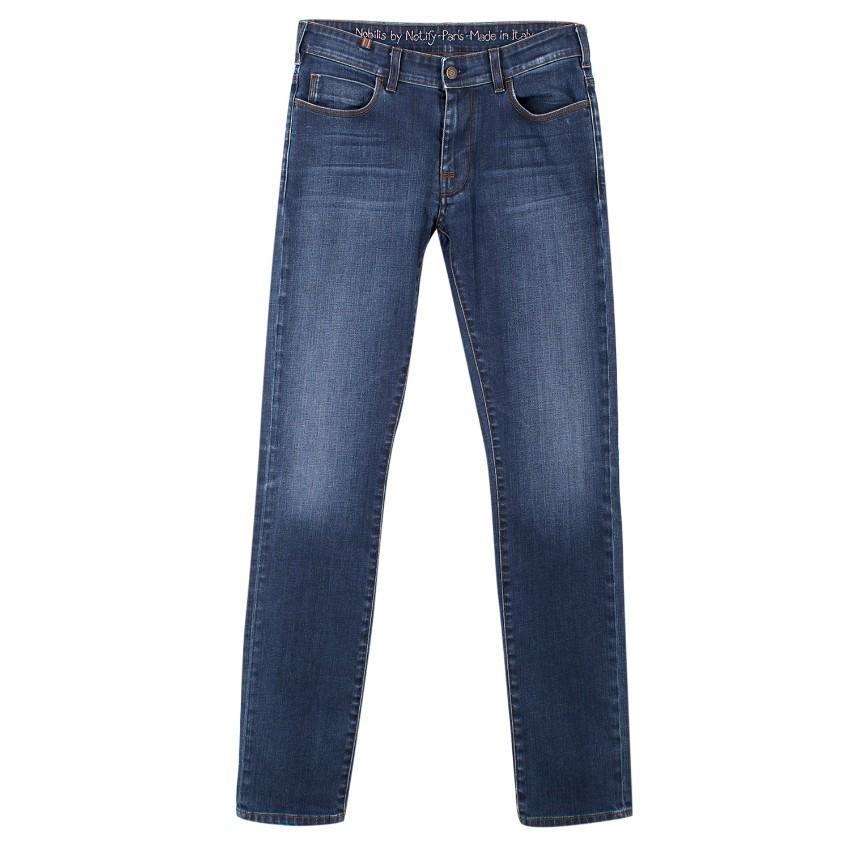 Nobilis by Notify Blue Skinny Jeans