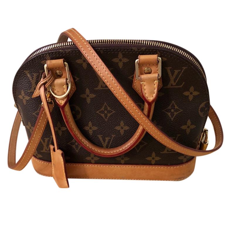 c755c321e45e Louis Vuitton Alma Bb Monogram Bag