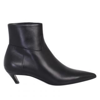Balenciaga slash leather boots