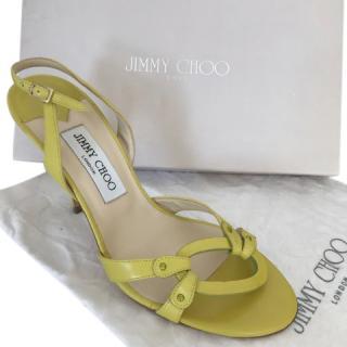 Jimmy Choo Yellow Sandals
