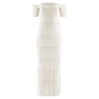 Ronny Kobo Samira Off-the-Shoulder Dress