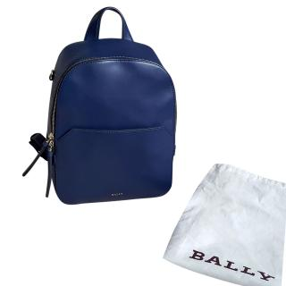 Bally leather back pack
