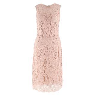 Dolce & Gabbana Nude Lace Dress