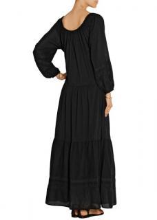 Vanessa Bruno Black Tassel Dress