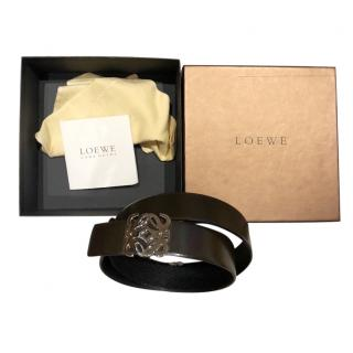 LOEWE black leather Belt
