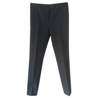 Joseph blue ankle grazer trousers