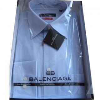 Balenciaga self stripe LS shirt.
