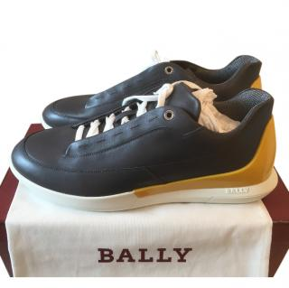 Bally Mens Grey Trainers