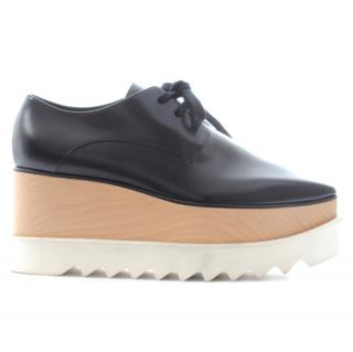 Stella McCartney 'Elyse' Faux Leather Platform Brogues