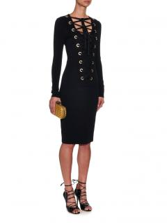 Givenchy Lace-up Dress.