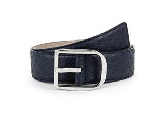 Gucci blue belt.  90 new