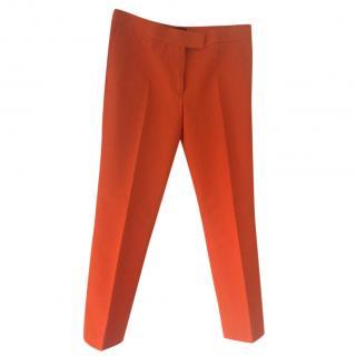 Joseph orange trousers