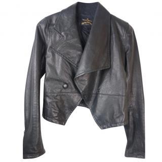 VIVIENNE WESTWOOD ANGLOMANIA leather jacket