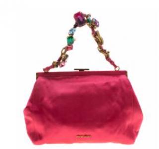 Miu Miu satin bag