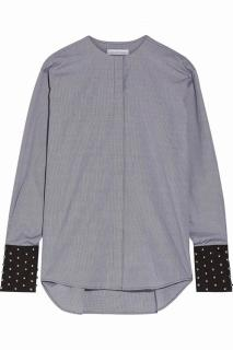 J W Anderson gingham black and white shirt
