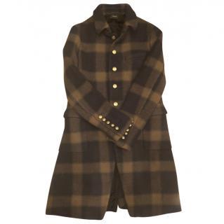 Joseph military style wool coat